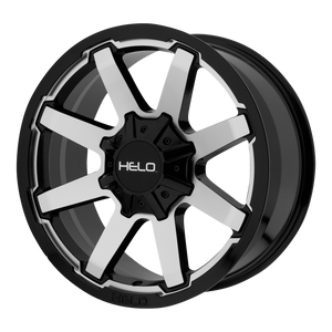 HELO HE909 GLOSS BLACK MACHINED