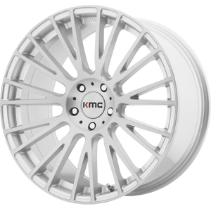 KMC IMPACT BRUSHED SILVER
