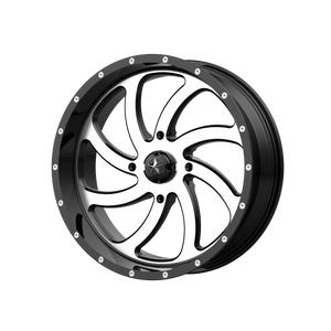 MSA OFFROAD WHEELS SWITCH MACHINED GLOSS BLACK