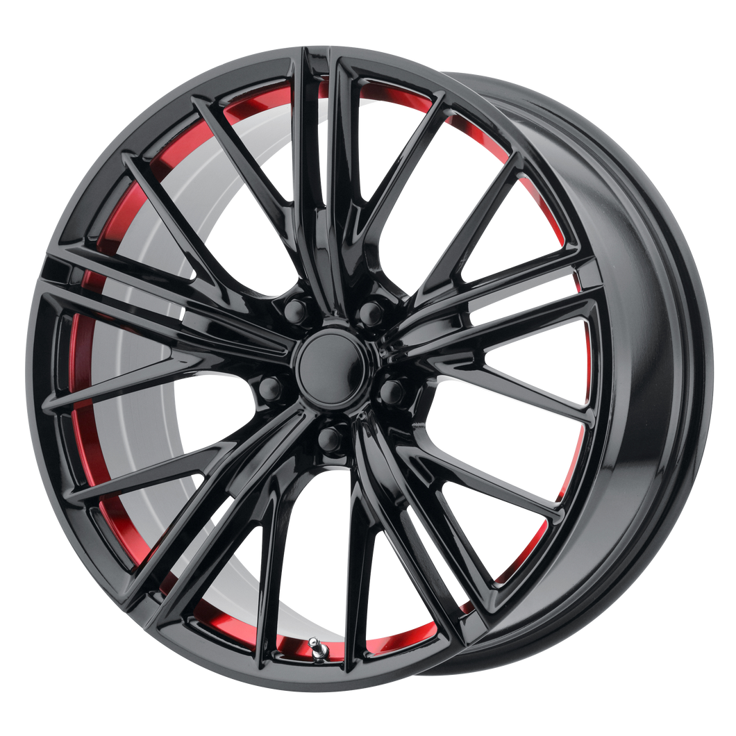 OE CREATIONS PR194 GLOSS BLACK RED MACHINED