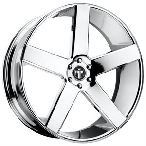 DUB 1PC BALLER CHROME PLATED