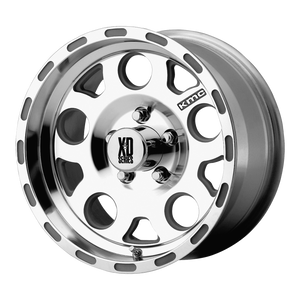XD SERIES BY KMC WHEELS ENDURO MACHINED W/ CLEAR COAT
