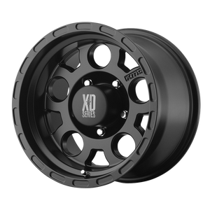 XD SERIES BY KMC WHEELS ENDURO MATTE BLACK