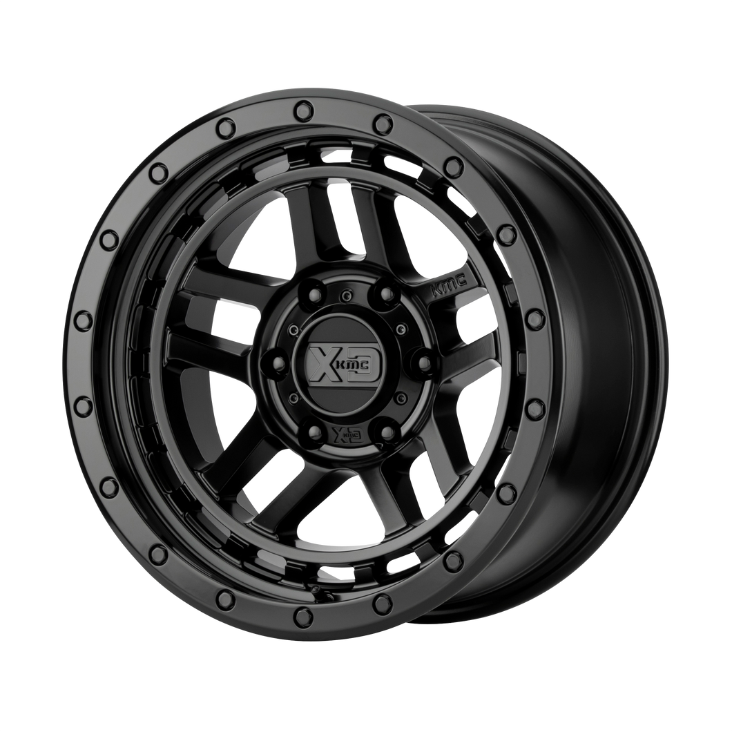 XD SERIES BY KMC WHEELS RECON SATIN BLACK