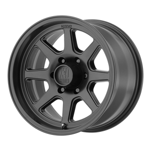 XD SERIES BY KMC WHEELS TURBINE SATIN BLACK