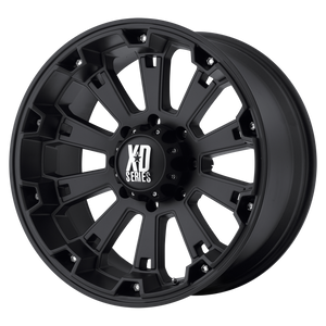XD SERIES BY KMC WHEELS MISFIT MATTE BLACK