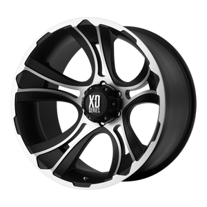 XD SERIES BY KMC WHEELS CRANK MATTE BLACK MACHINED