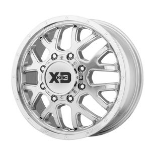 XD SERIES BY KMC WHEELS GRENADE DUALLY CHROME - FRONT