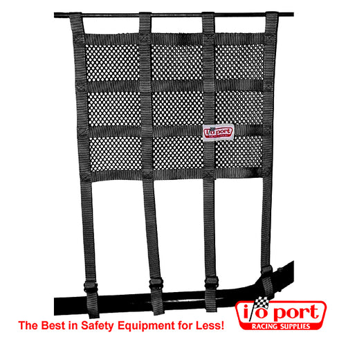 I/O Port Window Net with Bottom Strap Mounting