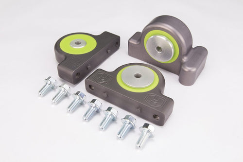 Hess HD Billet Engine Mounts with 10mm Bolts Polaris RZR