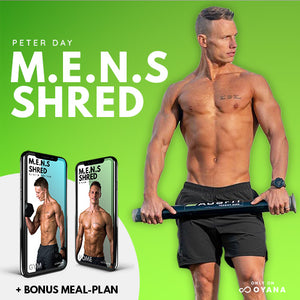 Peter Day M.E.N.S Shred: 90-Day Training Program + Customised Meal Plan
