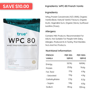 True Protein WPC 80 - Protein Powder