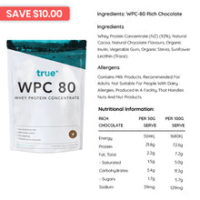 Load image into Gallery viewer, True Protein WPC 80 - Protein Powder