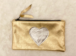 Leather Love Pouch - hokiis
