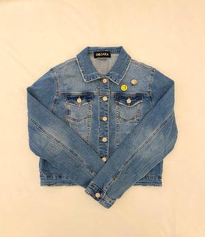 Eco-Friendly Vintage Tupac Denim Jacket - hokiis
