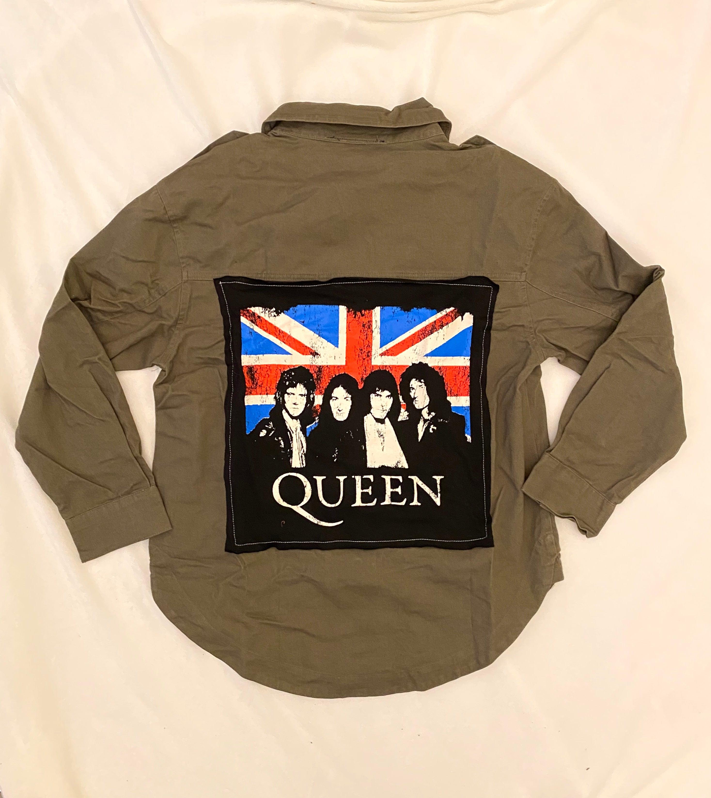 Eco-Friendly Vintage Queen Military Jacket - hokiis