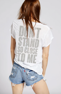 'Don't Stand So Close To Me' The Police Tee - hokiis