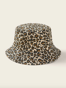 Leopard Pattern Bucket Hat - hokiis