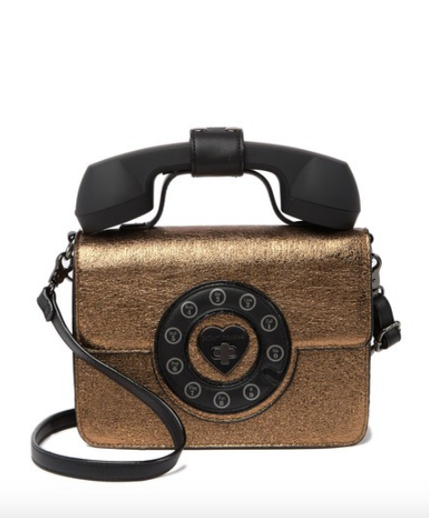Retro Telephone Crossbody Bag - hokiis