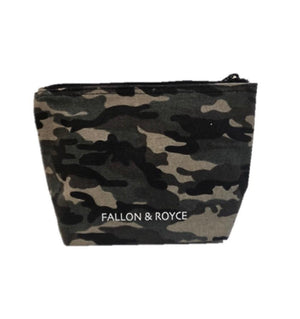 'Bag of Tricks' Camo Beaded Cosmetic Bag - hokiis