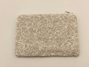 Beaded 'Love' Pouch - hokiis