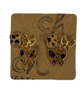 Butterfly Stud Set