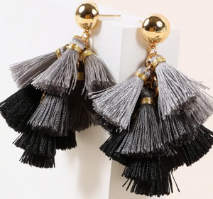 Mini Tassel Earrings