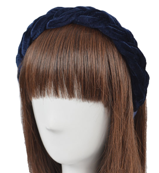 Twisted Headband, Navy