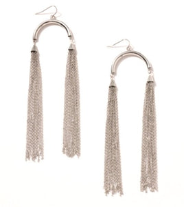 Double Chain Earrings