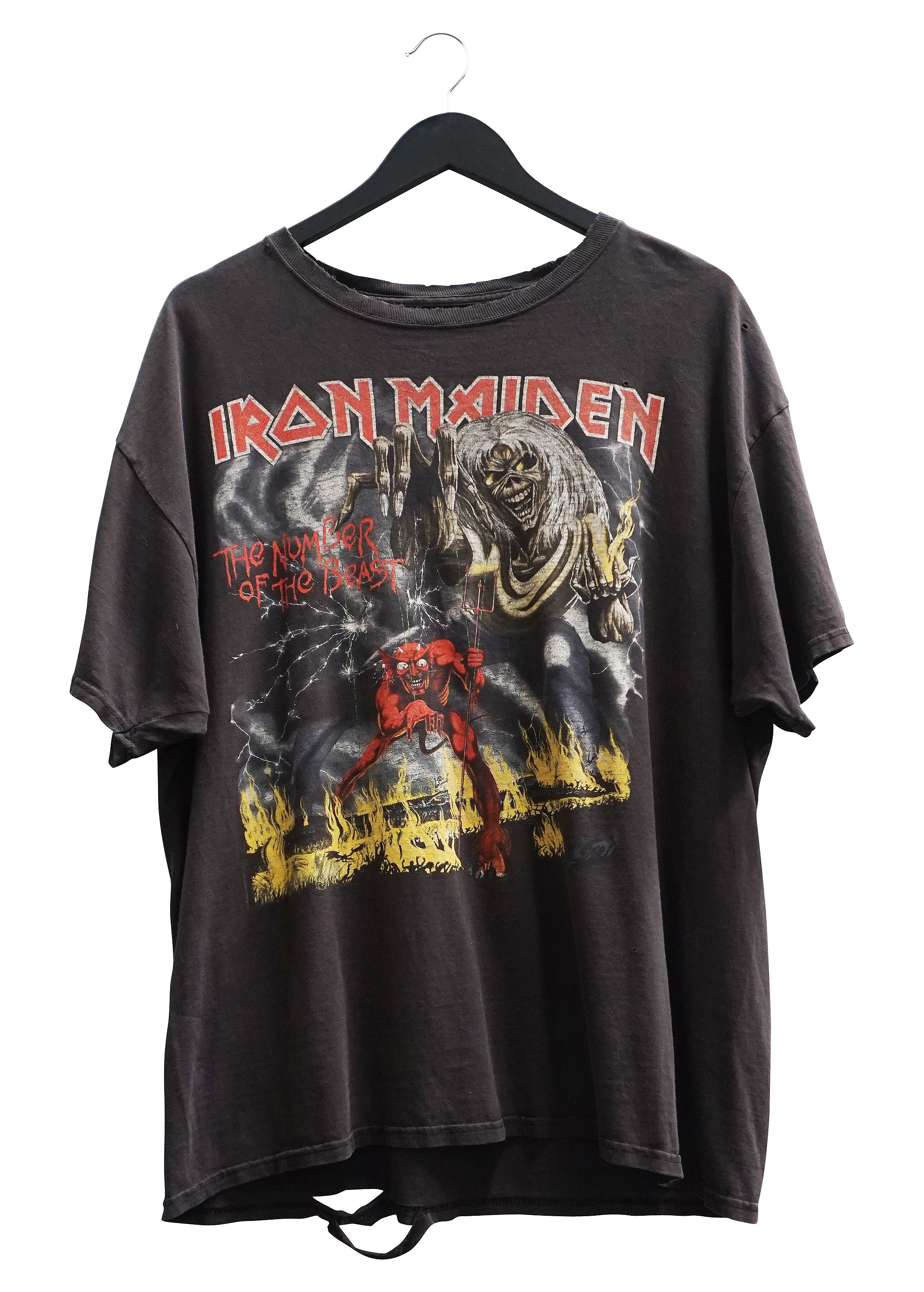 IRON MAIDEN 'NUMBER OF THE BEAST' VINTAGE TEE