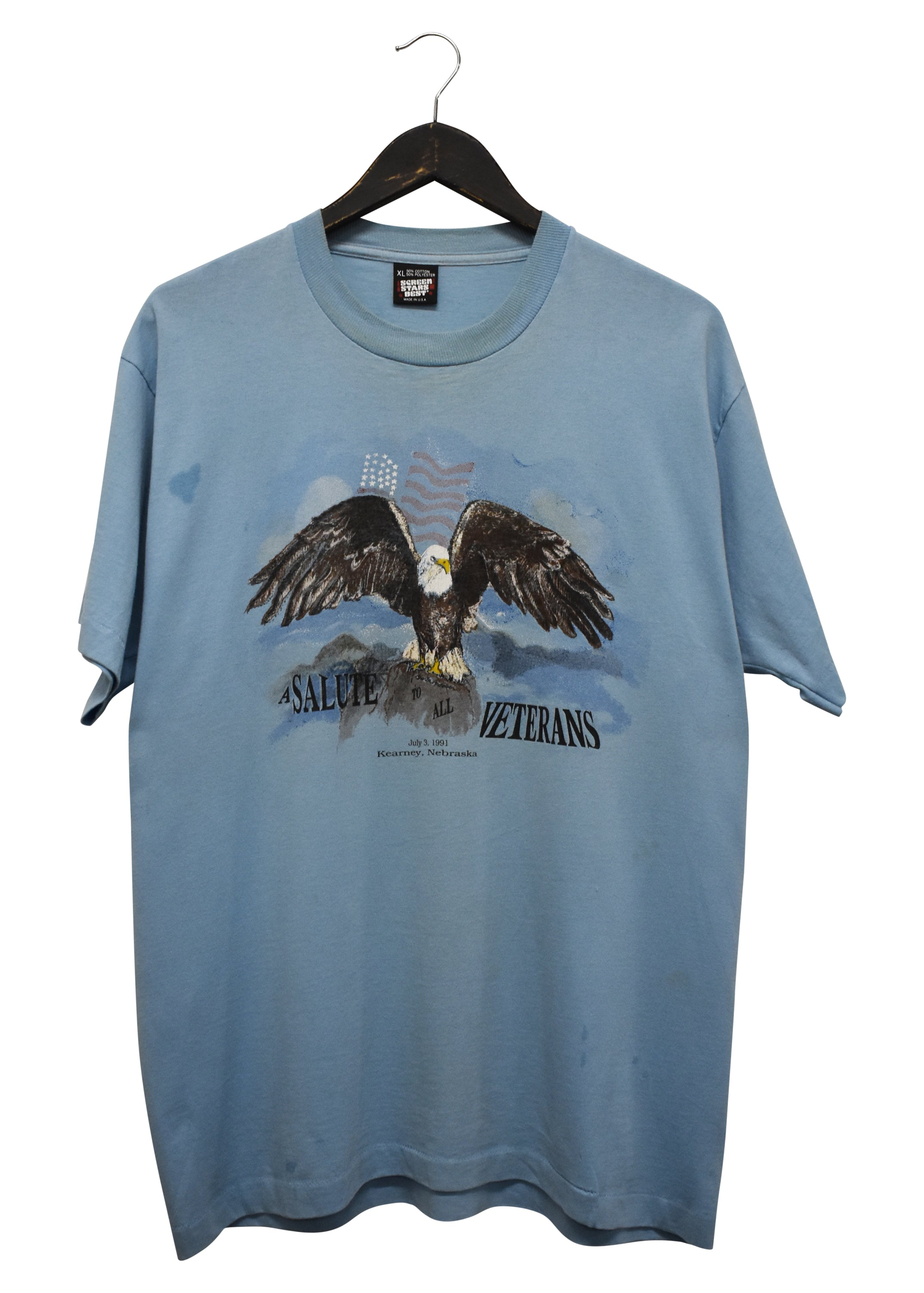 1995 LACONIA 'RALLY AND RACES' 72ND ANNUAL BIKE WEEK VINTAGE TEE