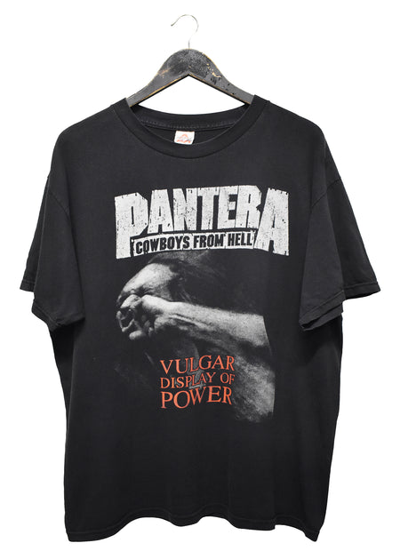 PANTERA 'VULGAR DISPLAY OF POWER' VINTAGE TEE
