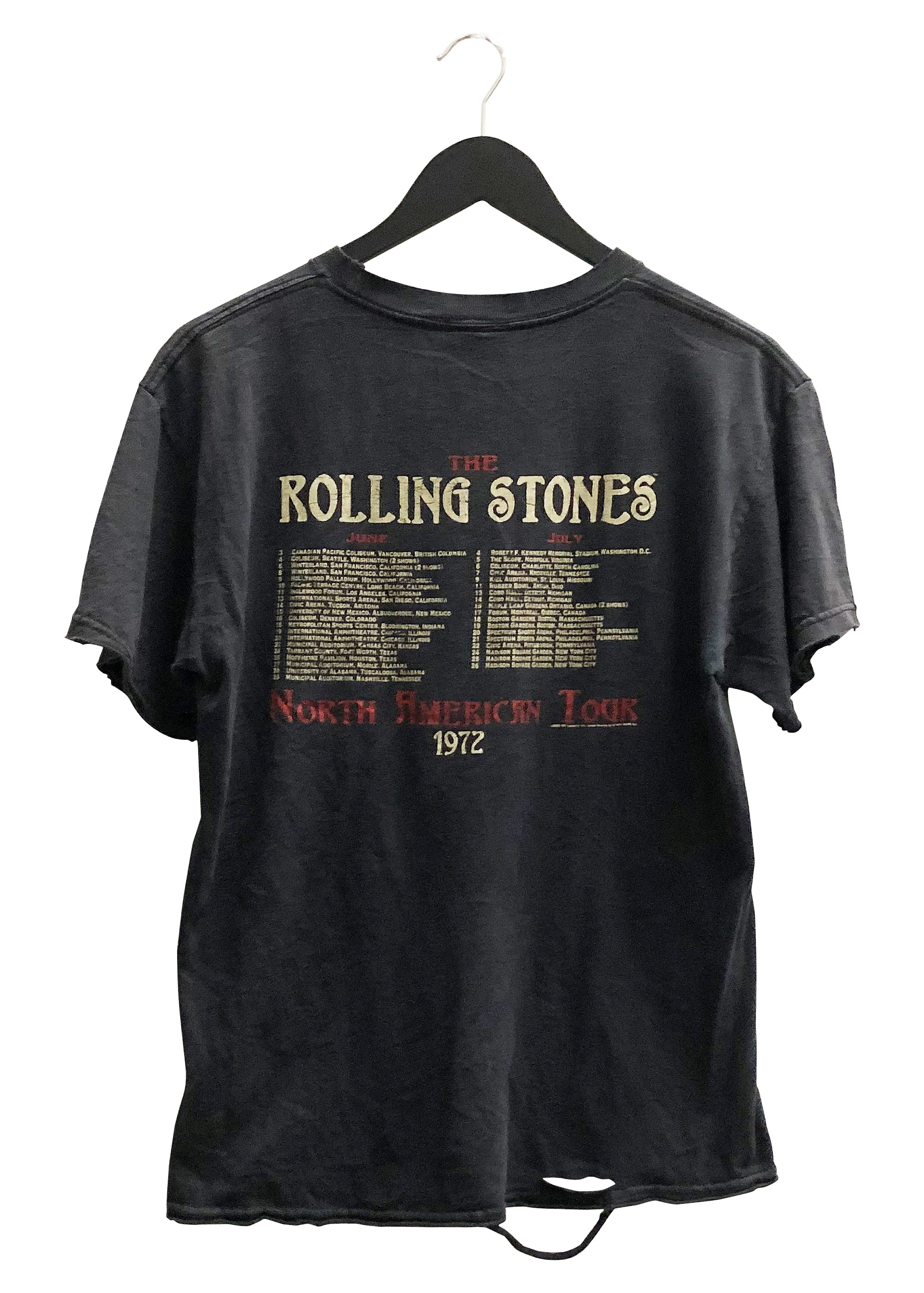 THE ROLLING STONES '1972 US TOUR' VINTAGE TEE