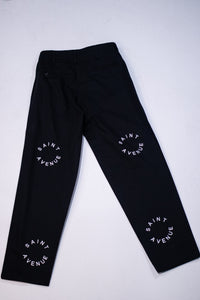 Saint Avenue Logo Pants (Black)