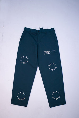 Saint Avenue Logo Pants (Spruce)