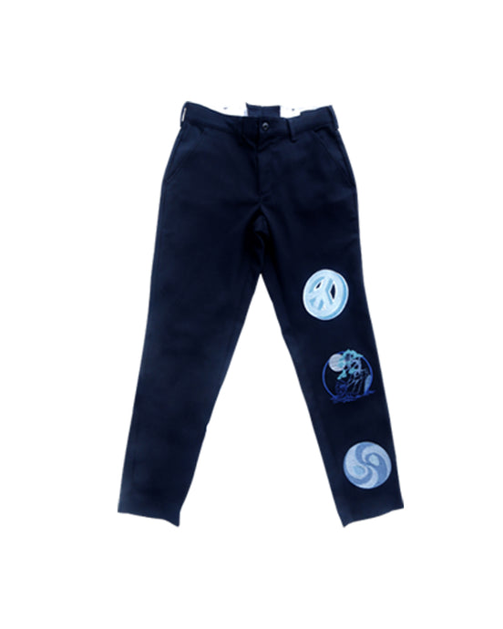 Peace Pants  (Navy)