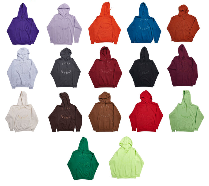 I Don't See Color Hoodie - Color Set 2