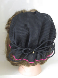 Ribbed Bonnet BH - Pink