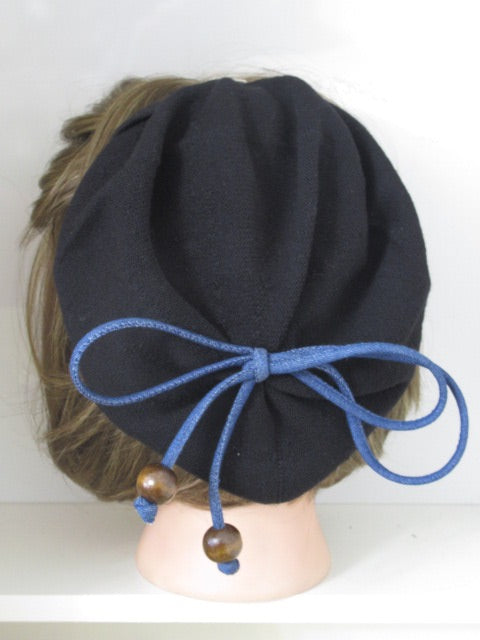 Denim String Bow Brt.