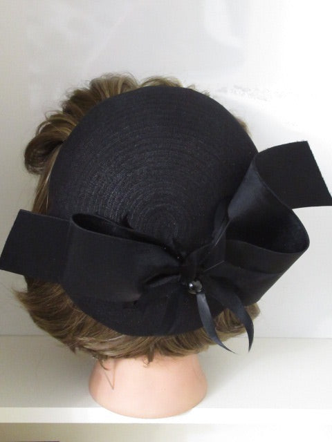 Satin Feathers Bow