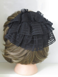 Plaid Look Tulle Band