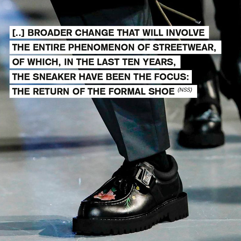 Is 2020 the year of formal footwear big coming back?