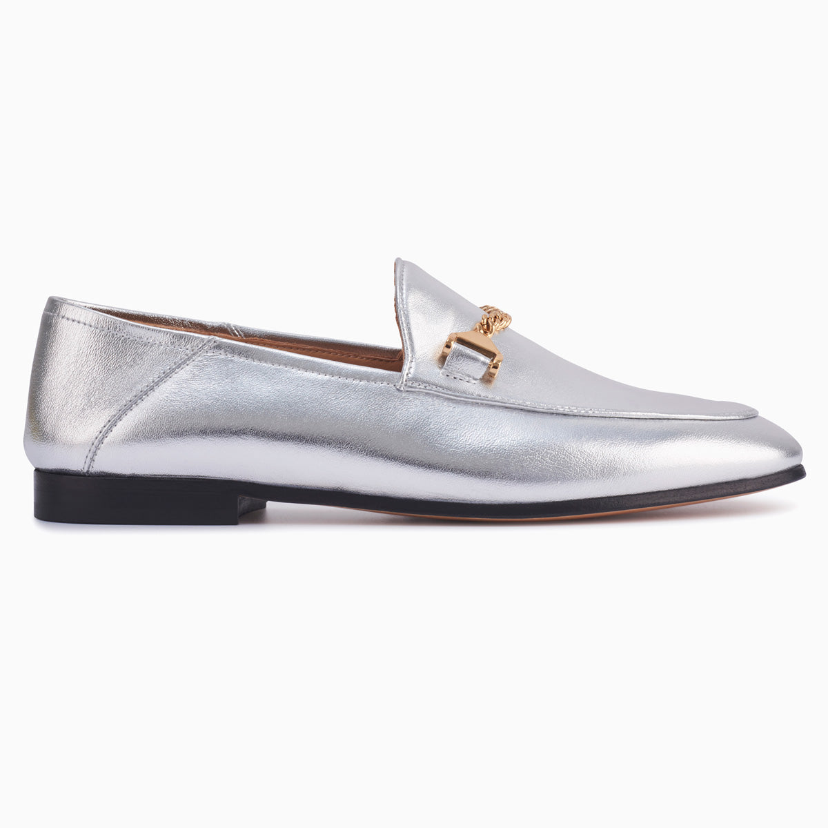 Hyusto Debbie Loafer Silver Glove Side view