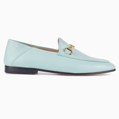 Hyusto Debbie Loafer Mint Glove side view