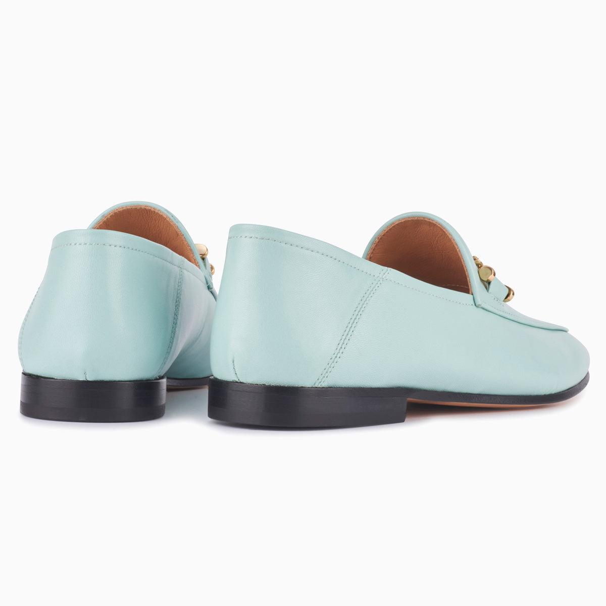 Hyusto Debbie Loafer Mint Glove back view