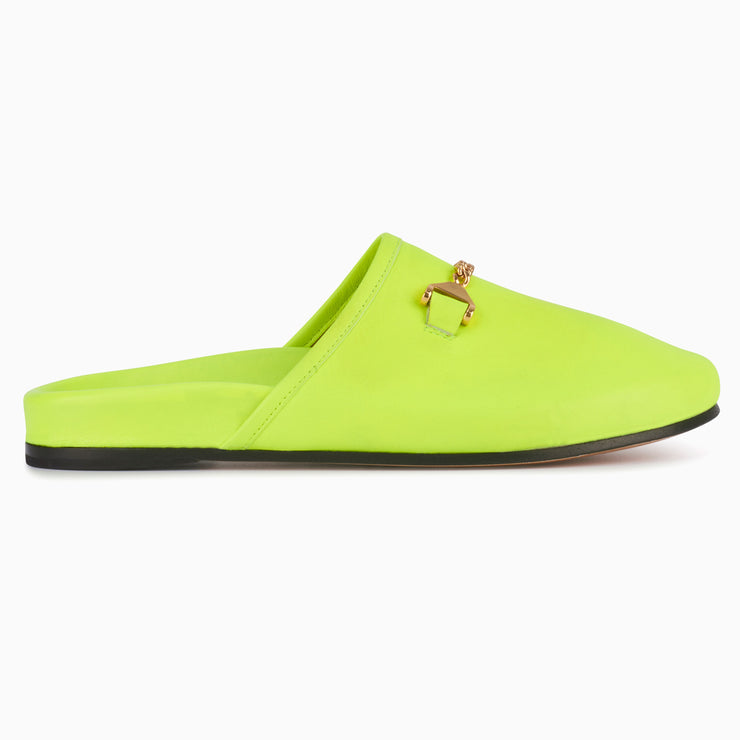 Hyusto Quincy Neon Yellow Glove side view