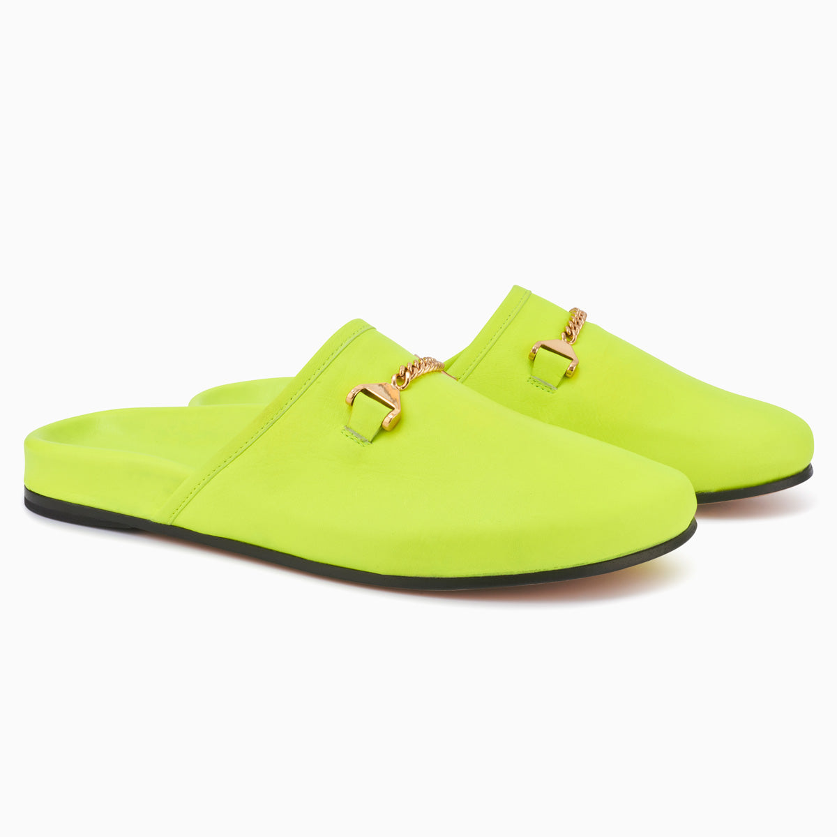 Hyusto Quincy Neon Yellow Glove 3/4 view pair