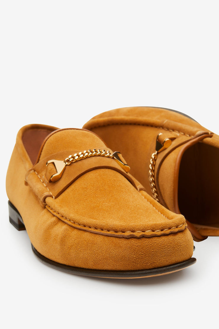 Mick Moccasin Light Brown Suede