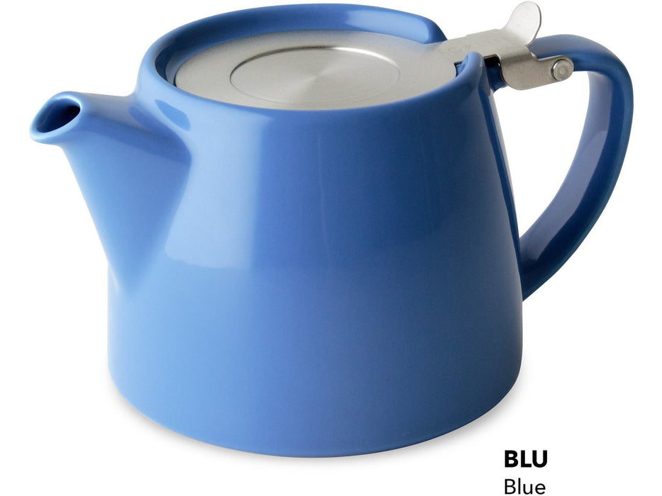Stump Teapot with SLS Lid & Infuser BLU(18oz/530ml)