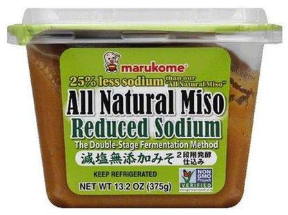 All Natural Reduced Sodium Miso Paste (13.2oz/375g)